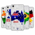 HEAD CASE DESIGNS GEOMETRIC MAPS HARD BACK CASE FOR LG PHONES 2