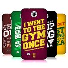 HEAD CASE DESIGNS FUNNY WORKOUT STATEMENTS HARD BACK CASE FOR HTC PHONES 3