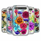 HEAD CASE DESIGNS WATERCOLOURED FLOWERS HARD BACK CASE FOR BLACKBERRY PHONES