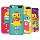 HEAD CASE DESIGNS ROBOT KIDS HARD BACK CASE FOR APPLE iPOD TOUCH MP3