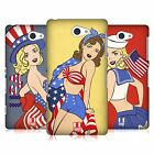 HEAD CASE DESIGNS AMERICA'S SWEETHEART USA HARD BACK CASE FOR SONY PHONES 4