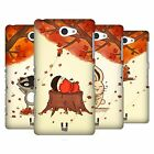 HEAD CASE DESIGNS AUTUMN CRITTERS HARD BACK CASE FOR SONY PHONES 4
