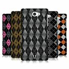 HEAD CASE DESIGNS ARGYLE INSPIRED WHIRLS HARD BACK CASE FOR SONY PHONES 4