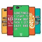 HEAD CASE DESIGNS A GRAPHIC DESIGNER'S LIFE HARD BACK CASE FOR SONY PHONES 4