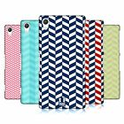 HEAD CASE DESIGNS HERRINGBONE PATTERN HARD BACK CASE FOR SONY PHONES 2