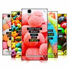 HEAD CASE DESIGNS SUGARY THOUGHTS HARD BACK CASE FOR SONY PHONES 3