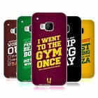 HEAD CASE DESIGNS FUNNY WORKOUT STATEMENTS SOFT GEL CASE FOR HTC PHONES 1