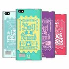 HEAD CASE DESIGNS DARLING TICKET SOFT GEL CASE FOR BLACKBERRY PHONES