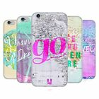 HEAD CASE DESIGNS WANDERLUST STATEMENTS SOFT GEL CASE FOR APPLE iPHONE PHONES