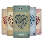 HEAD CASE DESIGNS LOVE AND OCEAN SOFT GEL CASE FOR SONY PHONES 3