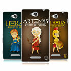 HEAD CASE DESIGNS MINI GREEK GODDESSES SOFT GEL CASE FOR SONY PHONES 3