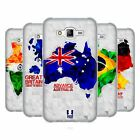 HEAD CASE DESIGNS GEOMETRIC MAPS SOFT GEL CASE FOR SAMSUNG PHONES 3