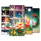 HEAD CASE DESIGNS HOLIDAY CANDLES SOFT GEL CASE FOR SONY PHONES 2