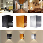 Modern 3W LED Wall Light Up Down Lamp Sconce Spot Lighting Home Bedroom Fixture