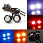12V LED Eagle Eye Feux de jour DRL Tail Light Lamp moto voiture Multi-Couleurs