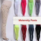 Pregnant Women Abdominal Maternity Pants Belly Leggings Trousers M-XXXL