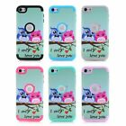 Owls Shockproof Plastic Hard Case Cover For Apple iPod Touch 6 Generation Shell
