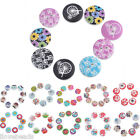 30PCs 2cm Mixed Round 2-Hole Wooden Buttons Scrapbook Sewing Cardmaking Craft