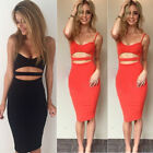 Sexy Women Bandage Slim Bodycon Evening Party Cocktail Short Mini Summer Dress