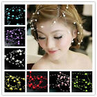 15*1.5yard Fishing Line Pearls Chain Beads Chain Garland Wedding Decoration