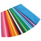"BULK Tissue Paper 15"" X 20""  50-100-150 OR 200 Gift Flower Pom Sheet 45+ Color"