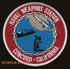 CONCORD NAVAL WEAPONS STATION NWS PATCH US NAVY USS PIN UP PORT CHICAGO GIFT WOW