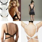 Smart Adjustable Converter Low Back Backless Bra Strap Extender BLACK,NUDE,WHITE