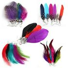 Earrings Feather Long Dangle 30 Pair Mixed Soft Elegant HOT Party