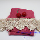 1 Yard, Polyester Lace Trim Ribbon Applique Embroidered Rose Sewing Crafts FL80