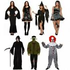 ADULTO UOMO DONNA HALLOWEEN PARTY PUB COSTUME HORROR OUTFIT
