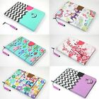 Fashion Folio Pu Leather Wallet Smart Stand Case Cover For Apple Ipad Mini 1 2 3