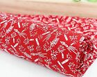Fireworks 100% Cotton Fabric / All sizes / rockets Red Quilting offcut ff089-