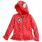 Disney Store Princess Snow White Deluxe Zip Front Hoodie Sweat Shirt Girl 5/6