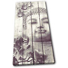 Buddha Vintage Religion SINGLE CANVAS WALL ART Picture Print