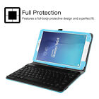 PU Leather Stand Cover Case With Bluetooth Keyboard For Samsung Galaxy Tab E 9.6