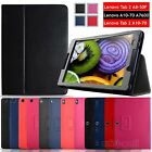 "Latest Foldable PU Leather Case Cover For Lenovo Tab / Tab2 8"" 10.1"" inch Tablet"