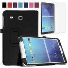 EEEKit PU Leather Stand Cover Case+Clear Screen Protector for Samsung Galaxy Tab