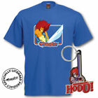 Thundercats LionO T SHIRT & KEYRING GIFT SET RETRO TOP S M L XL MENS & LADIES