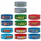 MARVEL AVENGERS PVC WRIST BAND RUBBER PRINTED WRISTBANDS HULK THOR IRON MAN FILM
