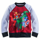 Disney Store Marvel Avengers Long Sleeve Sweatshirt Shirt Boy Size 5/6