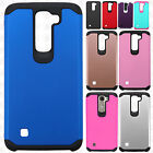 LG K7 / Tribute 5 HARD Astronoot Hybrid Rubber Silicone Case Cover +Screen Guard
