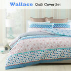 3 Pce Wallace Floral Geometry Quilt Cover Set by Phase 2 - QUEEN KING