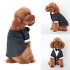 Pet Dog Cat Clothes Prince Wedding Suit Tuxedo Bow Tie Puppy Clothing Coat HOT