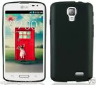 BLACK TPU Protector Gel Case for LG F70 / Access LTE