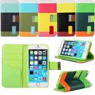 STAND WALLET LEATHER CASE COVER FOR iPHONE 4 iPHONE 5 iPHONE 6 4.7 iPHONE 6 PLUS