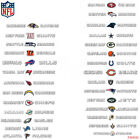 New NFL All Teams Pick Your Team Car Truck SUV Windshield Window Decal Sticker $17.08 USD on eBay