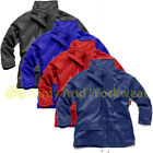 Childrens Kids Waterproof Rain Jacket Childs Breathable Vent Wet Storm Coat Play