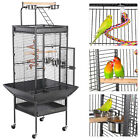 """61""""Large Bird Cage Play Top Parrot Finch Cage Macaw Cockatiel Cockatoo Pet House фото"""