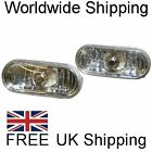 Crystal Clear Side Repeater Set Oval Turn Signal Indicators