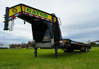 20+5 GOOSENECK, EQUIPMENT, FLAT BED, GATORMADE TRAILER--FLORIDA